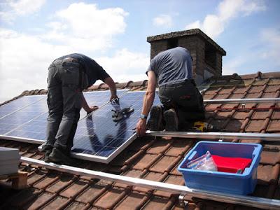 installation panneau photovoltaïque